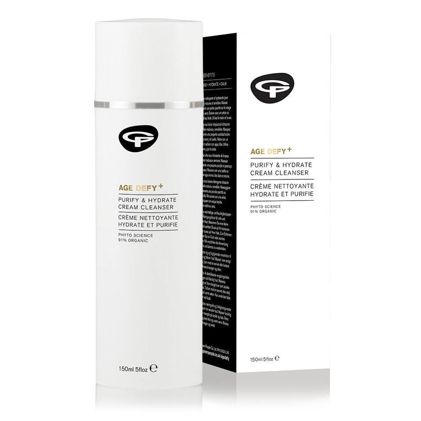 Green People / AGE DEFY+ PURIFY AND HYDRATE CREAM CLEANSER (150 ML) / FD-GP-NO11