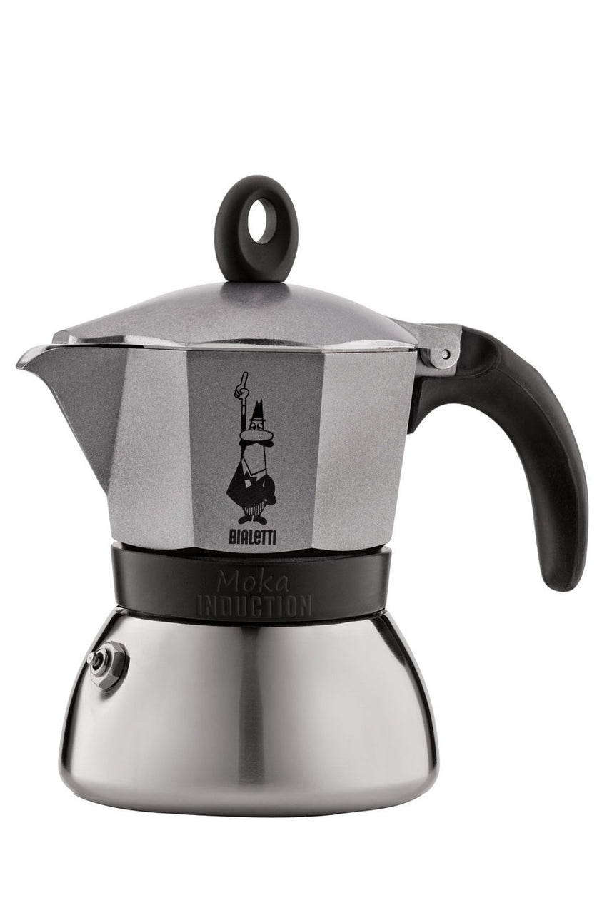 Bialetti / Moka induktion, antracit, 3 Kopper / 4822