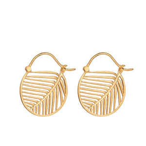 Øreringe, guld, Escape Earrings