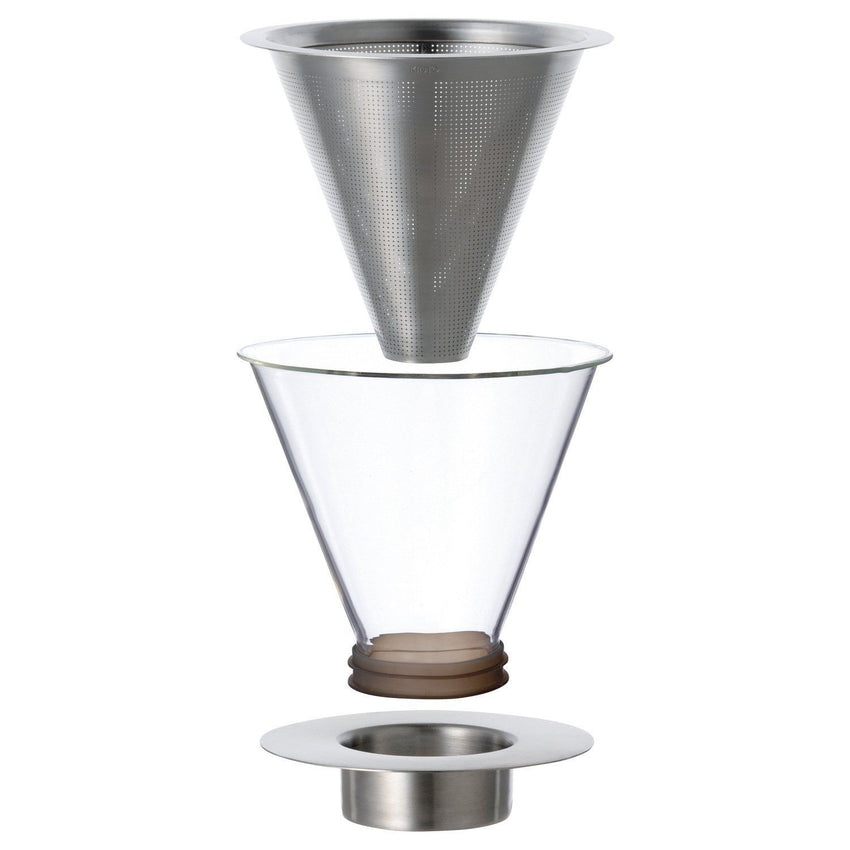 Kinto / Carat coffee dripper og pot slow brew kaffe kande / 21678
