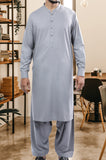 Formal Shalwar Suit for Men EG2593-L-Grey