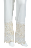 Ladies Trouser SKU: WTR0133-White - Diners