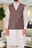Waist coat For Men SKU: GA3331-L-Brown