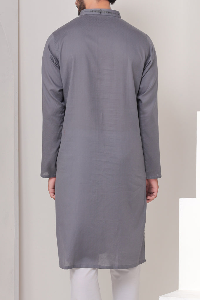 Formal Kurta SKU: EA2544-D-Grey