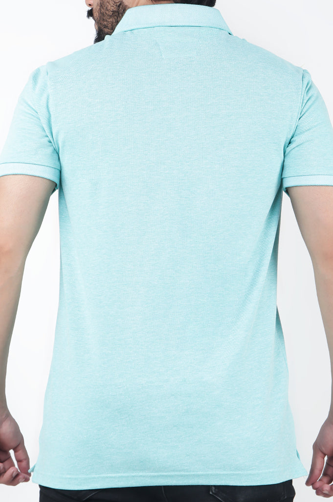 Men's Polo T-Shirt SKU: NA683-L-Green