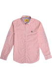 Boys Casual Shirt SKU: KBB 0241 Peach - Diners