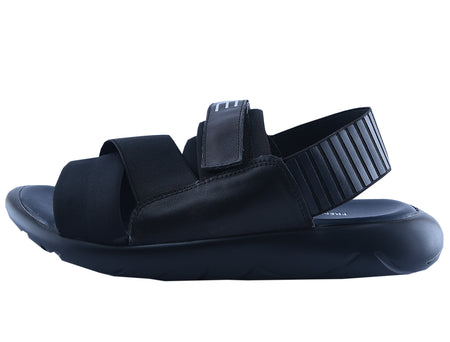 Slippers For Men in Black SKU: SLP0059-BLACK