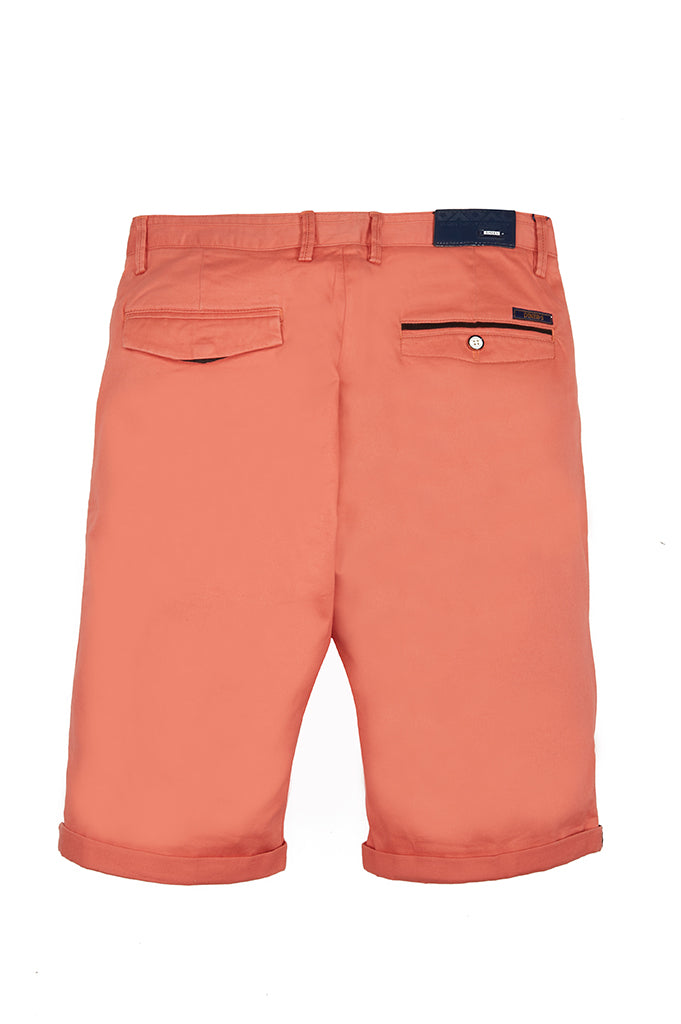 Imported Cotton Shorts : SKU-SH0003 Peach