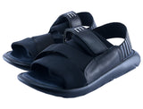 Slippers For Men in Black SKU: SLP0020-BLACK