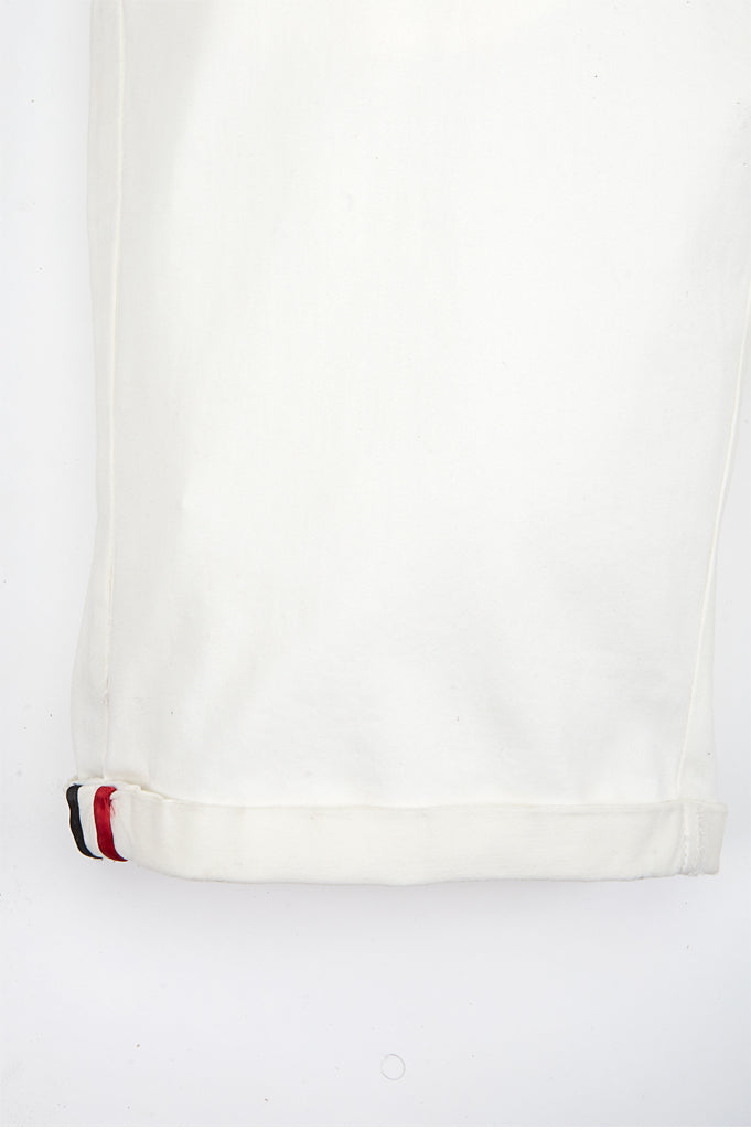 Imported Cotton Shorts : SKU-SH0003 Off White