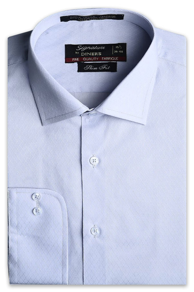 Formal Man Shirt in L-Grey AB19542 (Slim Fit)