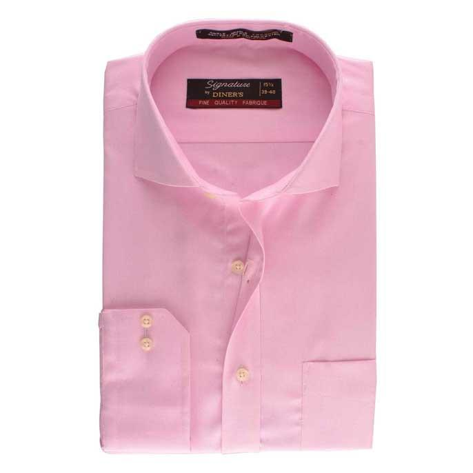 Formal Oxford Shirt in L-Pink