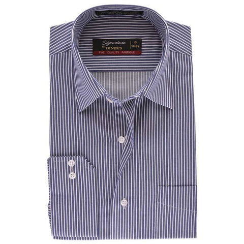 Formal Shirt in D-Blue SKU: AB13592-D-BLUE