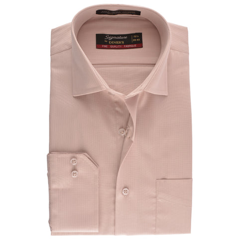 Formal Signature Self Shirt in Beidge SKU: AB15721-BEIDGE