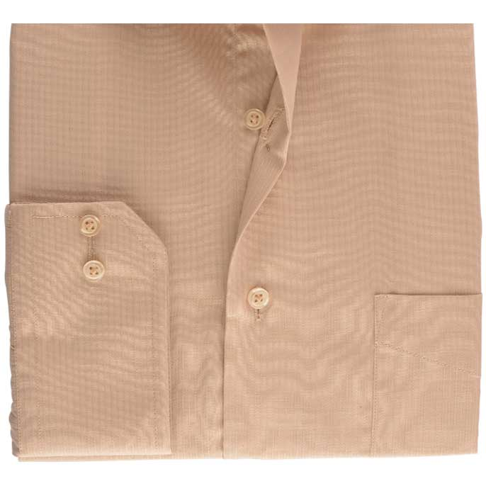 Formal Signature Self Shirt in Fawn SKU: AB15721-FAWN