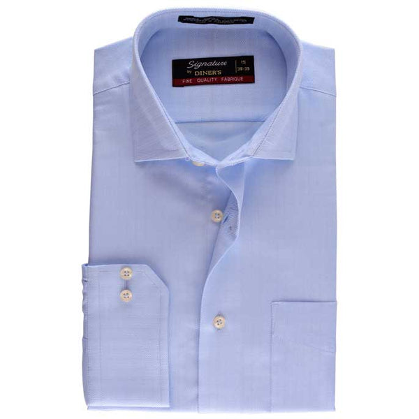 Formal Men Shirt SKU: AB15731-Sky Blue