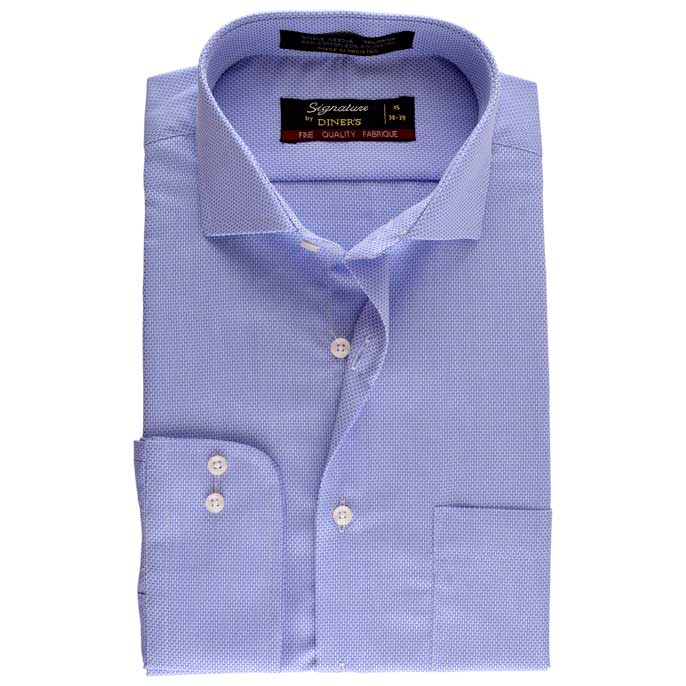 Formal Men Shirt SKU: AB16200-SKY-BLUE