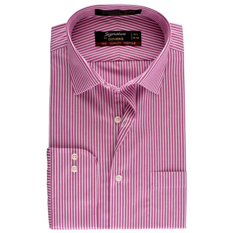 Formal Men Shirt SKU: AB16204-PURPLE