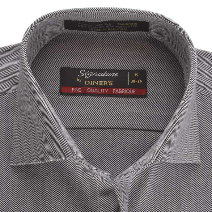 Formal Men Shirt in C-Grey SKU: AB16840-C-GREY