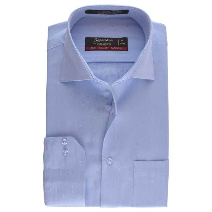 Formal Men Shirt in Sky-Blue SKU: AB16840-Sky-Blue