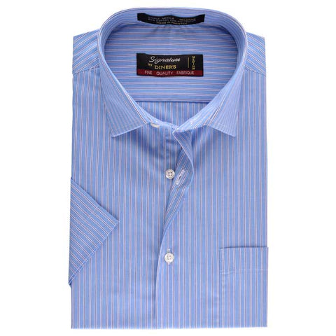 Formal Shirt in Blue (Half Sleeves)