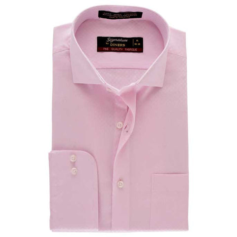 Formal Men Shirt in Pink SKU: AB18144-PINK