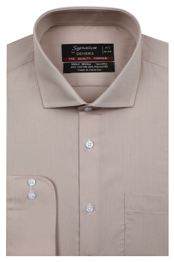 Formal Man Shirt in FAWN SKU: AB19527