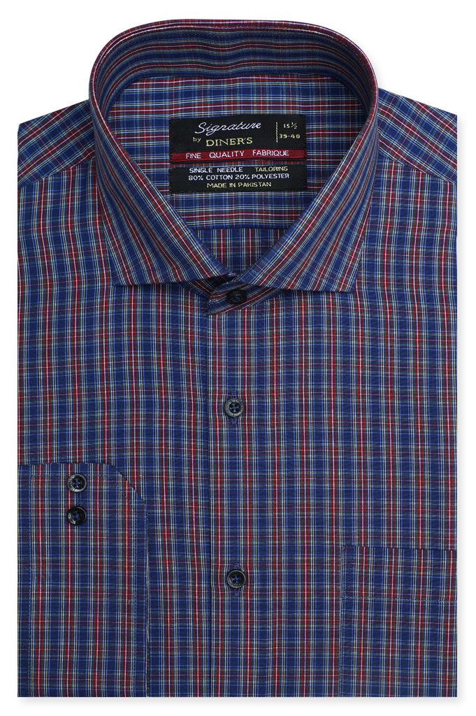 Formal Man Shirt in Multi SKU: AB19561-Multi
