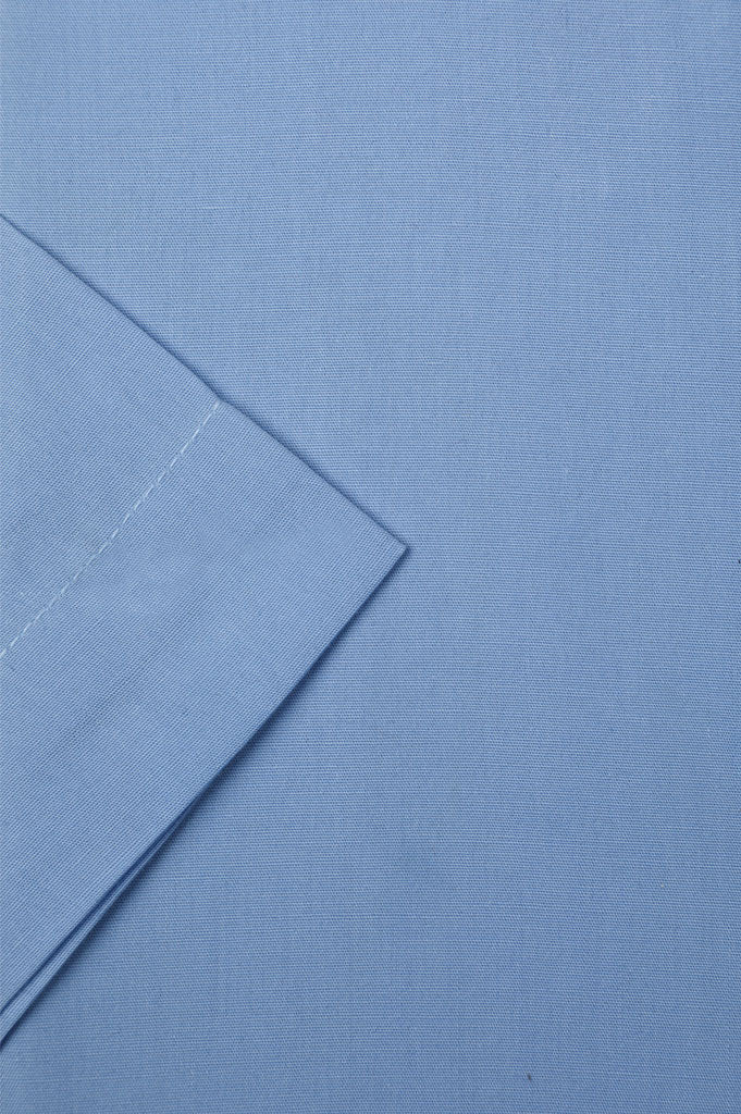 Formal Man Shirt in Blue (Half Sleeves) SKU: AB202