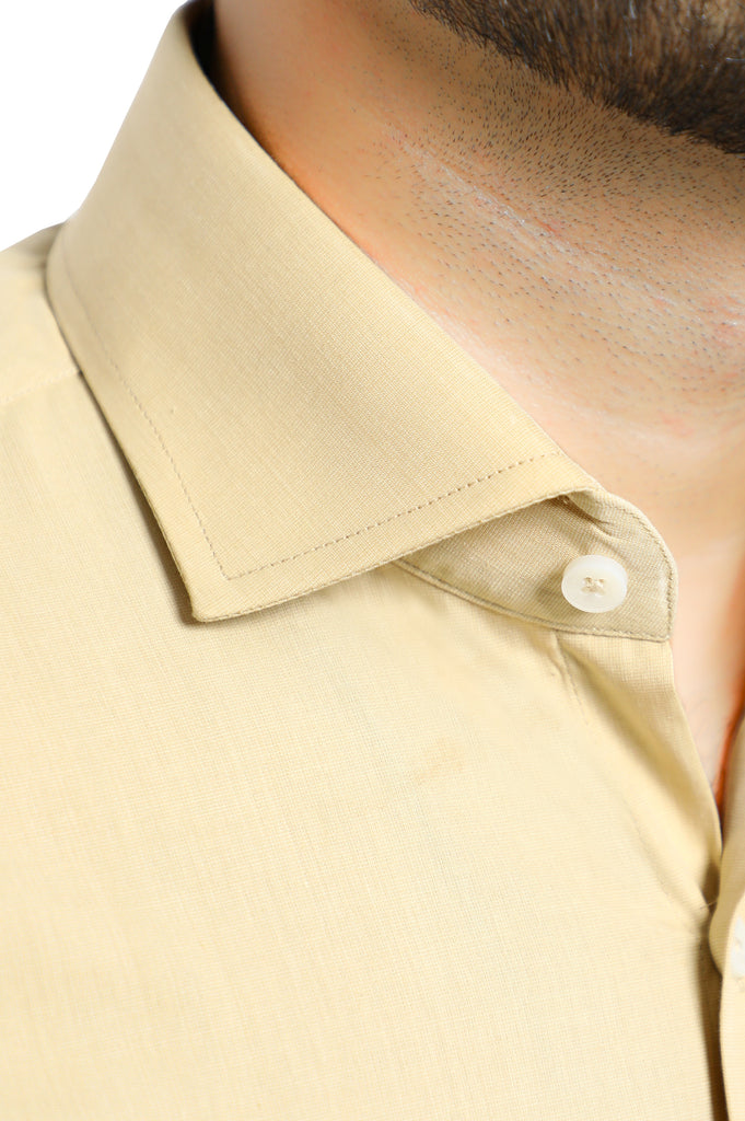 Formal Plain Shirt in Fawn SKU: AB206-FAWN - Diners