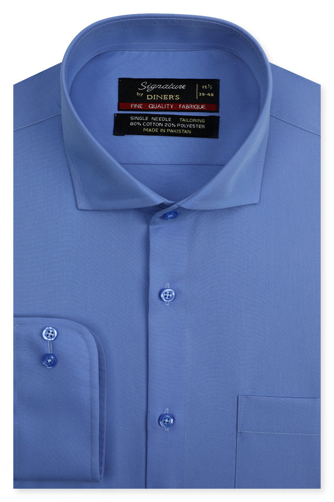Formal Man Shirt SKU: AB20617-BLUE - Diners