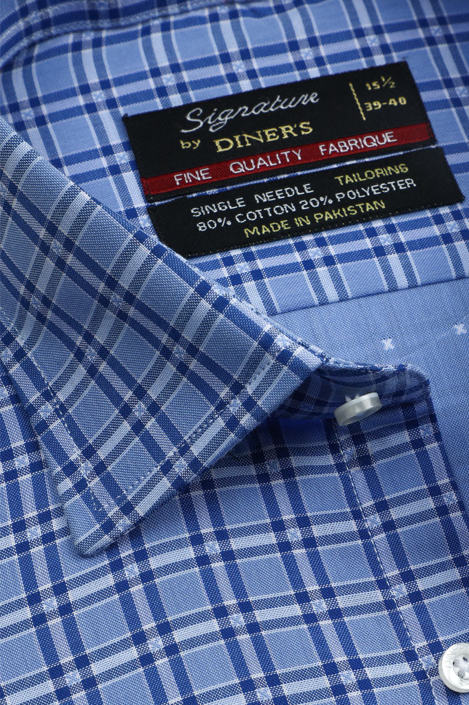 Formal Man Shirt SKU: AB20638-BLUE