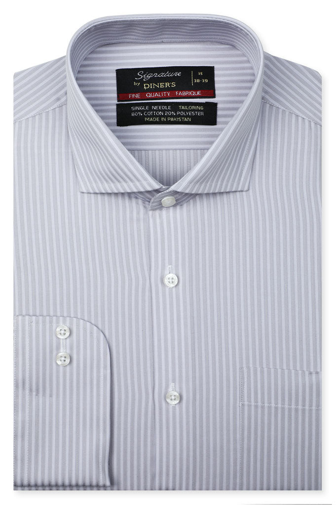 Formal Man Shirt in L-Grey SKU: AB20661