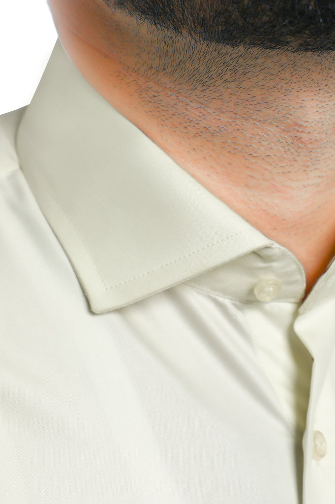 Formal Man Shirt in Cream SKU: AB2271-CREAM - Diners