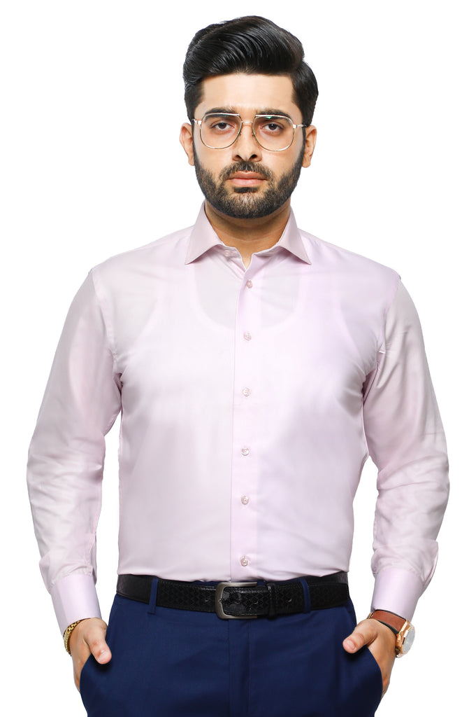 Formal Man Shirt in Pink SKU: AB2271-PINK - Diners