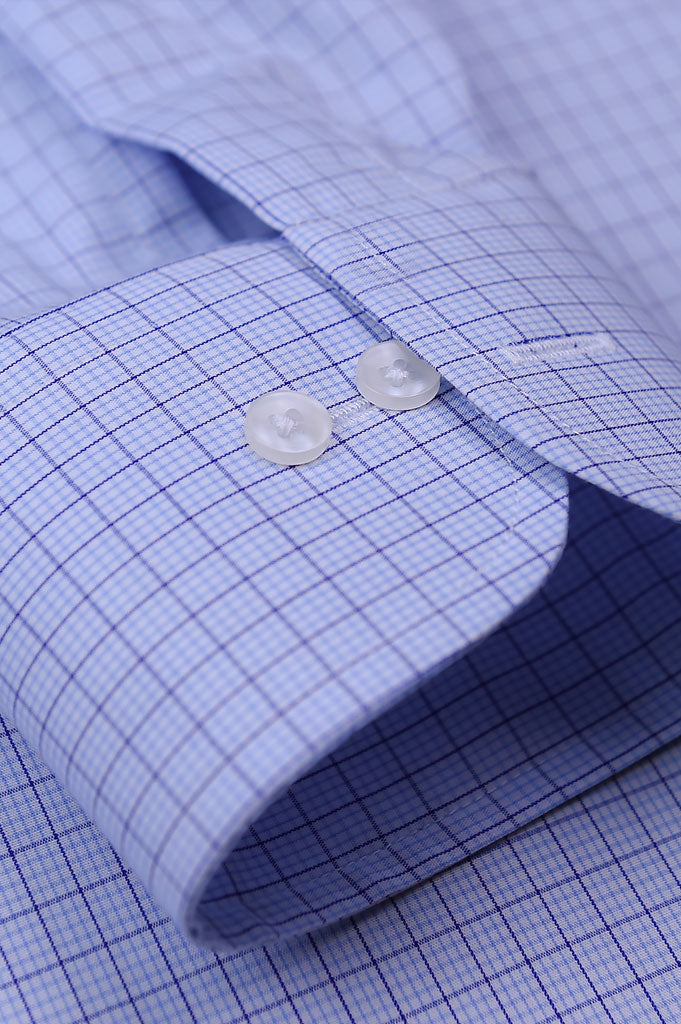 Formal Man Shirt SKU: AD19266-Sky Blue - Diners