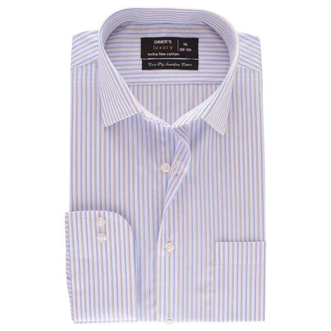 Formal Men Shirt SKU: AD17849-SKY-BLUE