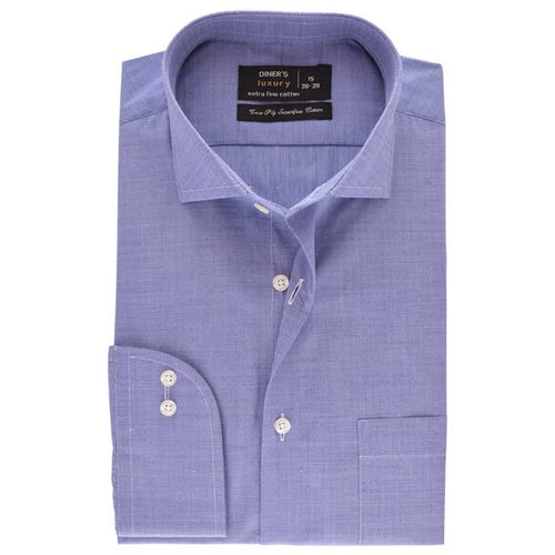 Formal Men Shirt SKU: AD17936-BLUE