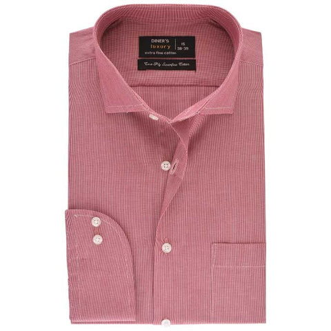 Formal Men Shirt SKU: AD17939-RUST