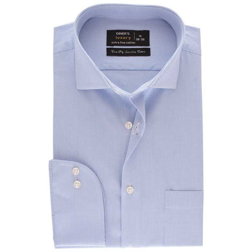 Formal Men Shirt SKU: AD17944-L-BLUE