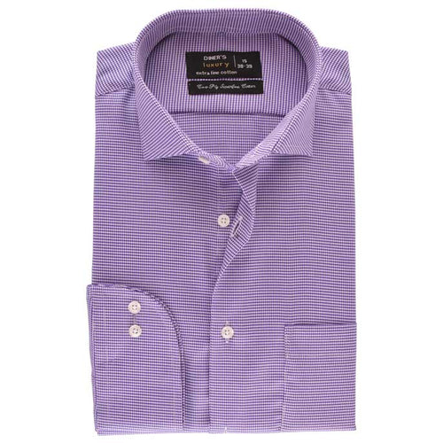 Formal Men Shirt SKU: AD17973-PURPLE