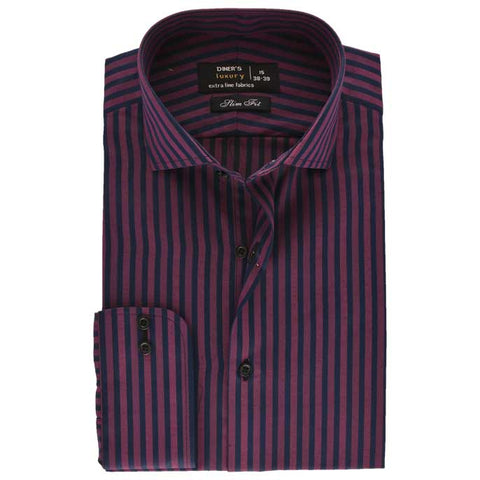 Formal Men Shirt SKU: AD17978-D-PURPLE