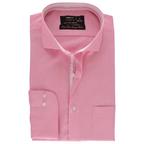 Formal Men Shirt In Pink SKU: AD17981-PINK