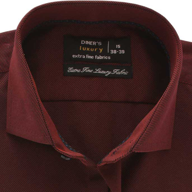 Formal Shirt in Maroon SKU: AD17991-MAROON