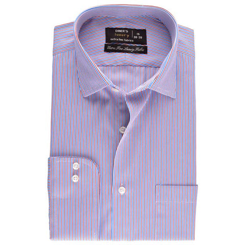 Formal Shirt in Sky-Blue SKU: AD18012