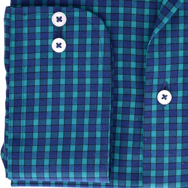 Formal Men Shirt SKU: AD18057-D-GREEN