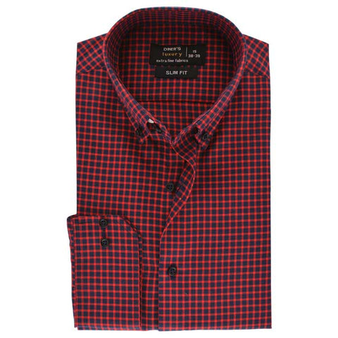 Formal Men Shirt SKU: AD18060-RED