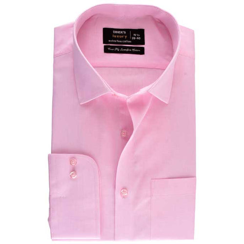 Formal Shirt in Pink SKU: AD18069-Pink