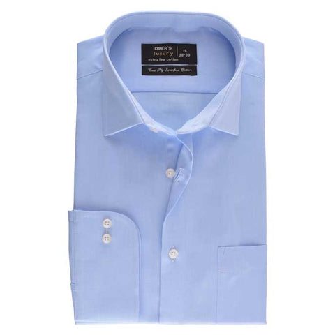Formal Men Shirt SKU: AD18139-SKY BLUE
