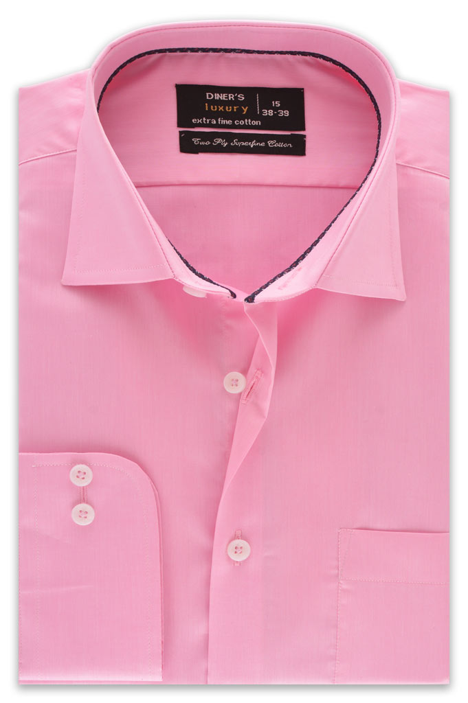 Formal Shirt in D-Pink SKU: AD18143-D-PINK - Diners